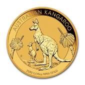 2020 Australia 110 oz Gold Kangaroo BU