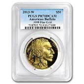 2013W 1 oz Proof Gold Buffalo PR70 PCGS