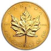 1987 Canada 1 oz Gold Maple Leaf BU