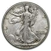 1929S Walking Liberty Half Dollar VF