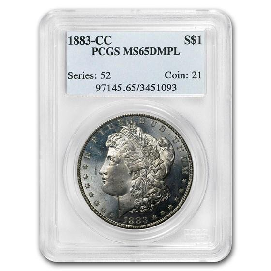 1883-CC Morgan Dollar MS-65 DMPL PCGS