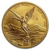 2019 Mexico 1 oz Gold Libertad BU