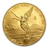 2011 Mexico 12 oz Gold Libertad BU
