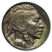 1916D Buffalo Nickel AU