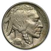 1914D Buffalo Nickel AU