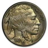 1920S Buffalo Nickel AU