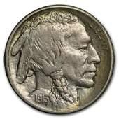 1913S TypeII Buffalo Nickel AU