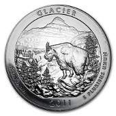 2011 5 oz Silver ATB Glacier National Park, MT