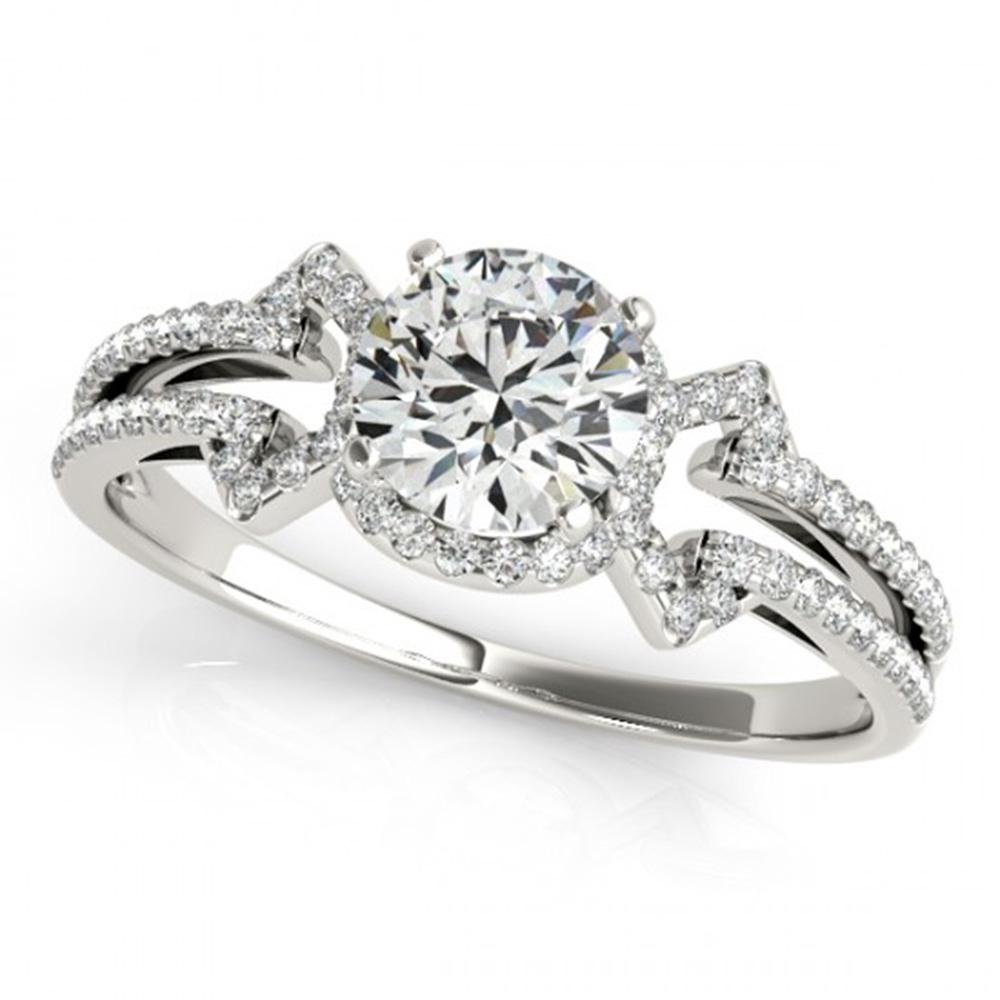 1.36 ctw Certified VS/SI Diamond Solitaire Ring 14k