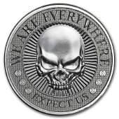 2 oz UHR Silver Round - Deuce Head Four Skull (Type II)