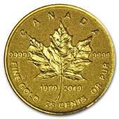 2019 Canada 12 Gram Pf Gold 025 40th Anniv of the