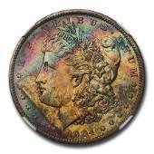 1904O Morgan Dollar MS63 NGC CAC Beautiful Toning