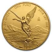 2018 Mexico 12 oz Gold Libertad BU