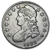 1832 Capped Bust Half Dollar XF Lg Letters