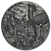 2016 2 oz Silver Coin  Biblical Series Valley of Dry