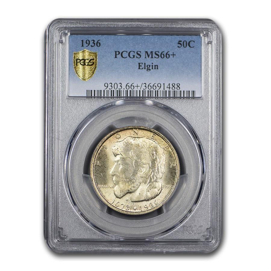 1936 Elgin, Illinois Centennial Half Dollar Commem