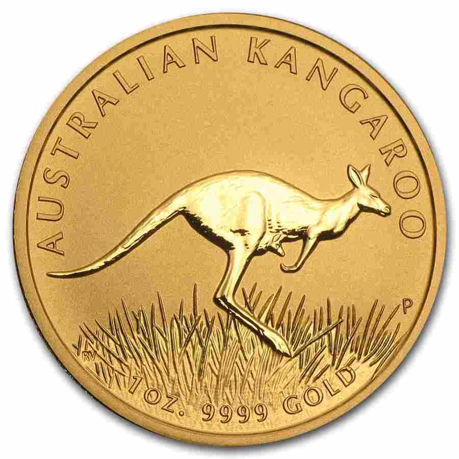 2008 Australia 1 oz Gold Kangaroo BU