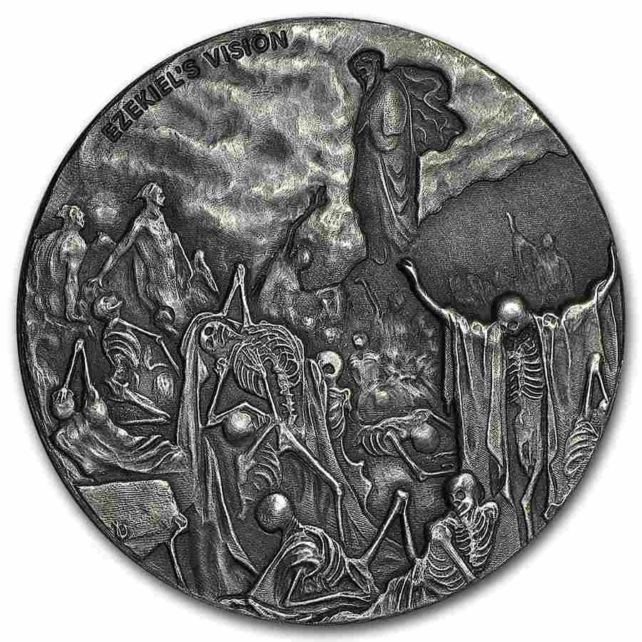 2016 2 oz Silver Coin - Biblical Series (Valley of Dry