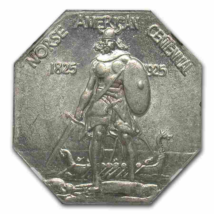 1925 Norse Medal Half Dollar MS-64 NGC (Thin Planchet)