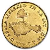 18321870 Mexico First Republic Gold 8 Escudos