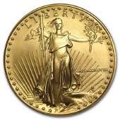 1988 1 oz Gold American Eagle BU MCMLXXXVIII