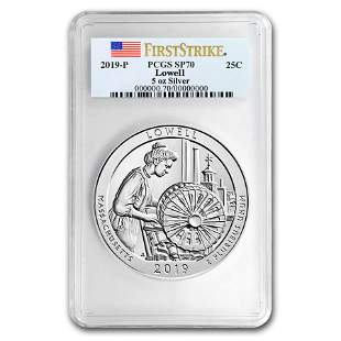 2019-P Silver ATB Lowell National Historic Park SP-70