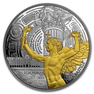 2017 France 5 oz Silver '¬50 Treasures of Paris