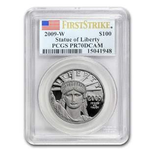 2009-W 1 oz Proof Platinum American Eagle PR-70 PCGS