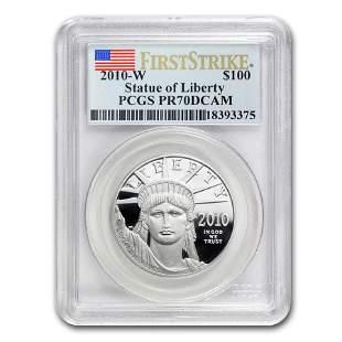 2010-W 1 oz Proof Platinum American Eagle PR-70 PCGS