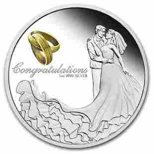 2020 Australia 1 oz Silver Wedding Proof