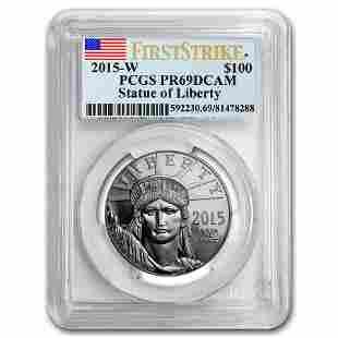 2015-W 1 oz Proof Platinum American Eagle PR-69 PCGS