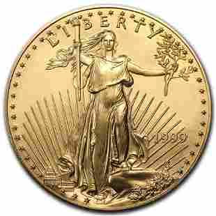 1999 1 oz Gold American Eagle BU