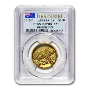 2012-P Australia 1 oz Gold Koala PR-69 PCGS (FS, High