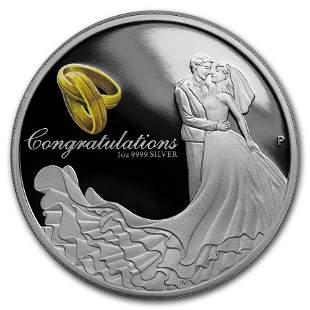 2018 Australia 1 oz Silver Wedding Proof