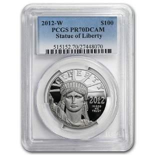 2012-W 1 oz Proof Platinum American Eagle PR-70 PCGS