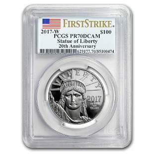 2017-W 1 oz Proof Platinum American Eagle PR-70 PCGS