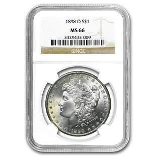 1898-O Morgan Dollar MS-66 NGC