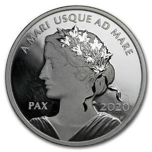 2020 Canada 1 oz Silver $1 Peace Dollar Proof UHR