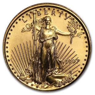 1997 1/10 oz Gold American Eagle BU