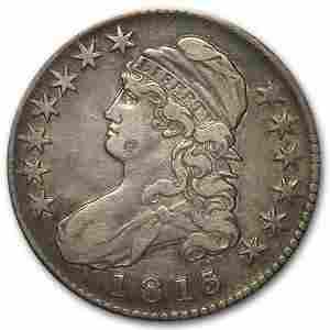 1813 Capped Bust Half Dollar XF