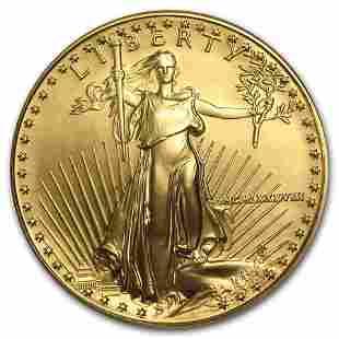 1988 1 oz Gold American Eagle BU (MCMLXXXVIII)