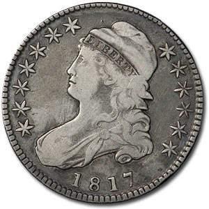 1817 Capped Bust Half Dollar XF