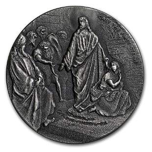 2019 2 oz Silver Coin - Biblical Series (Cast the First