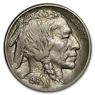 1915-S Buffalo Nickel AU