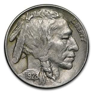 1928-S Buffalo Nickel AU