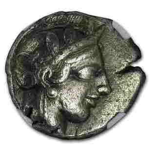 Athens Ag Tetradrachm Owl (440-404 BC) Ch VF NGC