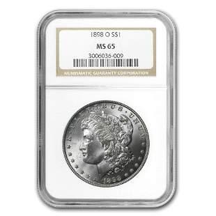 1898-O Morgan Dollar MS-65 NGC