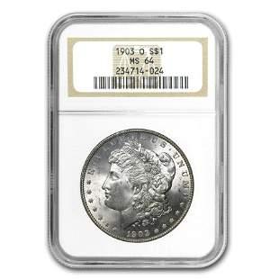 1903-O Morgan Dollar MS-64 NGC