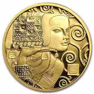 2013 Austria Gold Proof '¬50 Klimt Series (The
