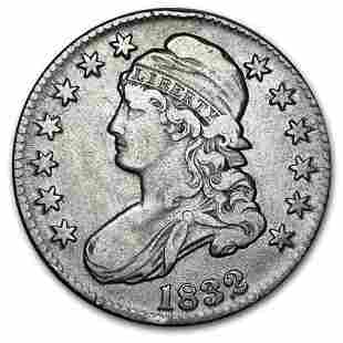 1832 Capped Bust Half Dollar XF (Lg Letters)